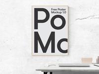 Poster Scene Free Mockup