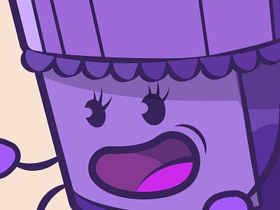Jam jam character purple