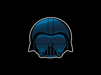 Vader vader icon illustration texture character dark