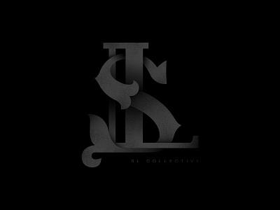 SL Collective logo icon vector salt lake city salt lake collect gradient dark black