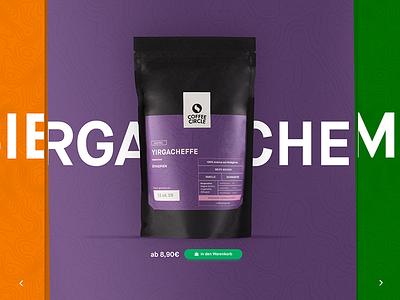 Coffee Circle — Coffeefinder configurator packaging coffee