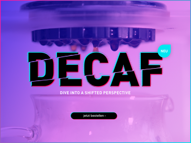 DECAF!! ☕ inyourface coffee decaf