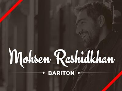 Mohsen Rashidkhan webdesign simple slider brown
