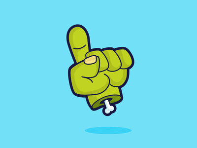 Zombie One Up scribbble icon game plants v zombies zombie 2d hand illustration vector