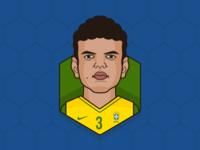 #5 Thiago Silva - Brazil