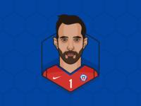 Claudio Bravo - Chile