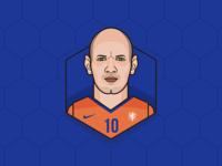 Arjen Robben - Netherlands