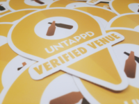 Untappd Stickers