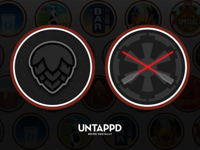Untappd Badges