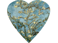 Blossoming Almond Tree Heart