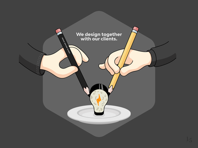 Caffeina - We design together with our clients design illustration contest caffeina