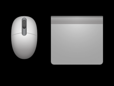 Mouse and trackpad