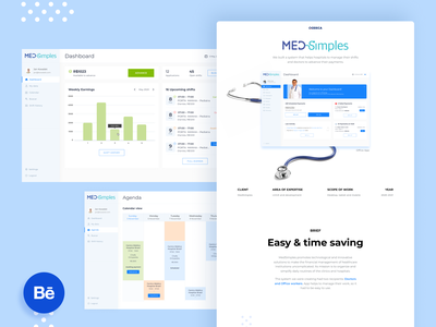 MedSimples design app web healthcare healthtech case study ux ui