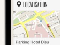 Parking Localisation