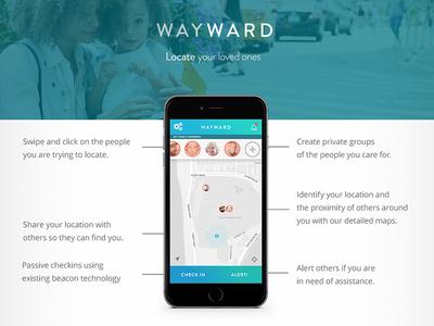 Wayward - Lost and Found App