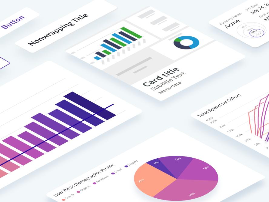 Design System user interface design design data vis