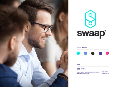 Swaap solutions coding engineering abstract social connect letters app design software app programmer technology sumesh creative minimal identity icon mark illustration logo