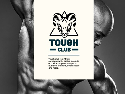 Tough club healthcare body art body care clever identity icon mark illustration logo togh zodiac sign taurus health and fitness sport nutrition body builder power triangle wild animal excercise