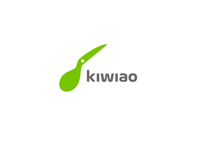 Kiwiao green new concept modern top 10 logo designer top 9 fruit australia kiwi bird animal vector creative brand identity icon mark illustration logo
