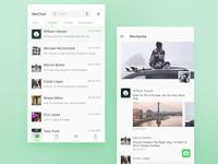 Wechat redesign