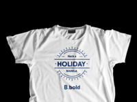 Hack a holiday : Manila edition tees