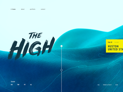 gg.g web ui transition text gradient motion minimal model gif design preview animation