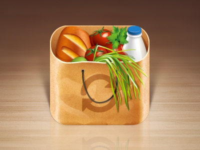 Buy Me A Pie icon products bread package food purchase ios iphone vector