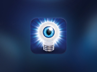 Eye Lamp eye lamp light magic icon ios iphone vector