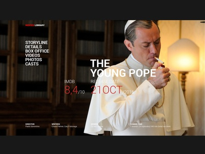 The Young Pope photos imdb judelaw illuminate yong pope movie cinema video card ui