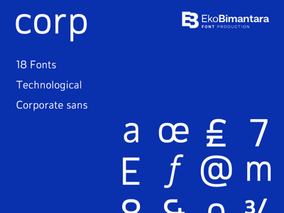 Corp branding brand design fonts graphicdesign letter typeface font typography type