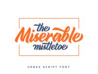 Urbax Script Font 5