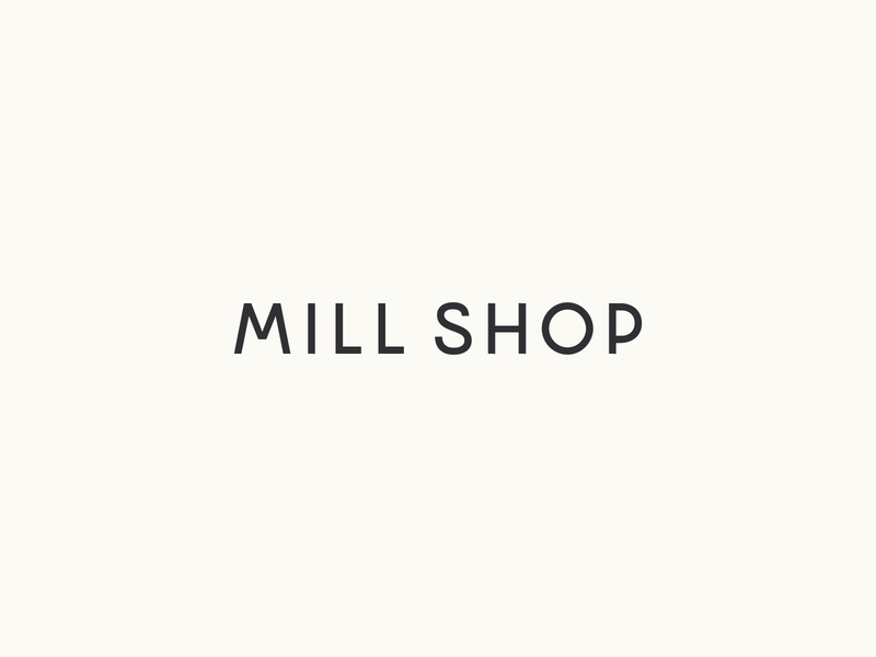 Mill Shop design fonts lettering graphicdesign graphic font typeface letter typography type