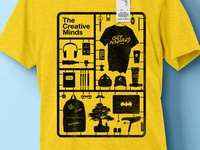 The Creative Minds t-shirt