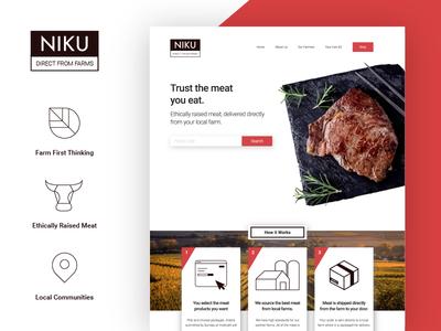 NIKU Website and Brand