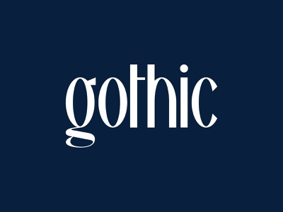 Aperios Gothic - Custom Font simple design illustration font family lettering typography logomark condensed font font design font