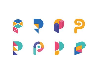 Portify - logo case study money logomarca graphic design app logomarks icon finance app finance logomark logo designer branding