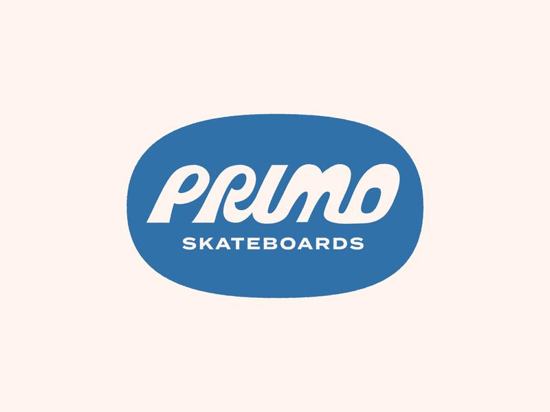 Primo Skate icon logomarks p badge skateboarding skate logos typography logo logomark logo designer branding