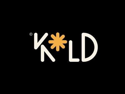 Kold Clothing - Experiment logotype and mark graphic design snowboard brand clothing brand snowflakes snowflake cold typography logo logomark logo designer branding