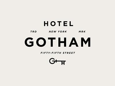 Hotel Gotham - Rejected logos hospitality icon logo luxury brand luxury hotels luxury hotels hotel branding logo designer branding