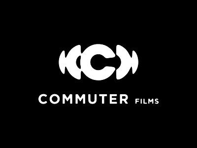 CMMTR Films minimalist graphic design simple logos film production typography logo logomark logo designer branding film logo films