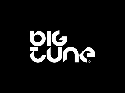 Big Tune - Logo v2 records hiphop music production logodesign music art record logotype music player logo designer branding