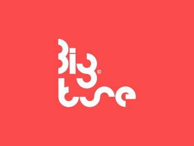 Big Tune Logo design music production minimalist graphic design music logo typography logomark logo designer branding