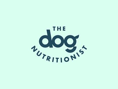 The Dog Nutritionist - Archive logomark typography pets dogs smile nutrition logo logo designer branding pet logo