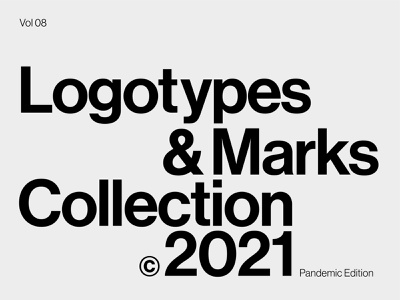 Logotypes & Marks Collection - 2021 logos graphic design collections symbols typography marks logomark logo designer branding