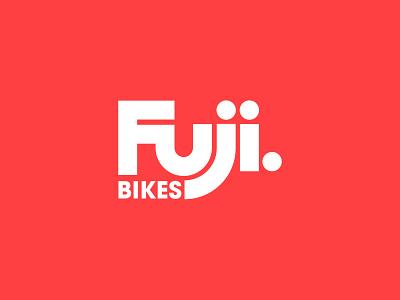 Fuji Bikes - Concept Design logomark logo cycling logo biking cycling logo designer branding