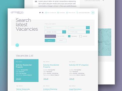 Legal Content Page digital grid colour layout graphic design ux ui web design