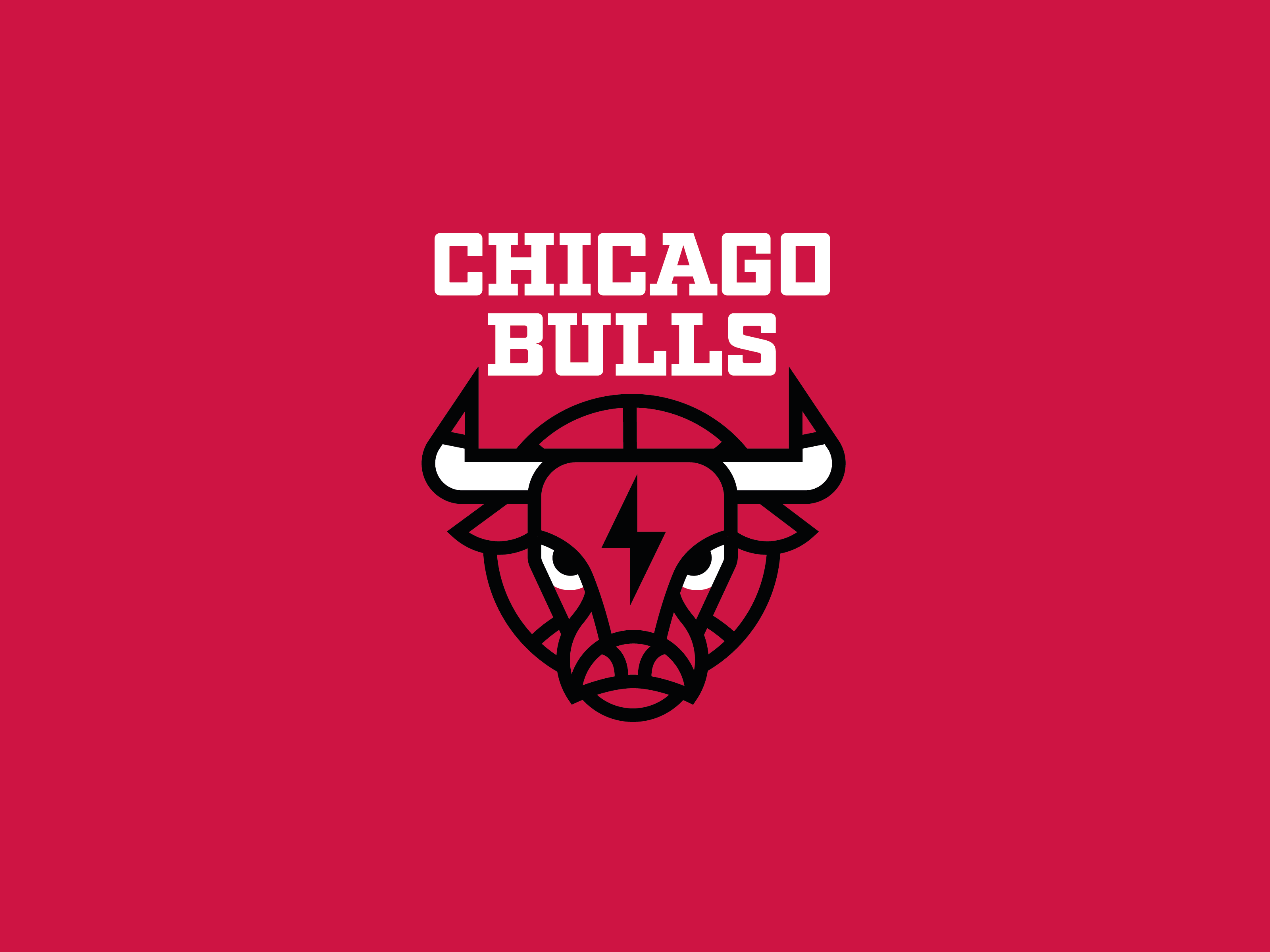 Reimagined Chicago Bulls Logo By Alex Aperios On Dribbble