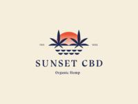Sunset CBD Logos
