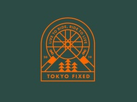 Tokyo Fixed Badge Design