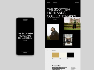 Manors Golf - Behance case study